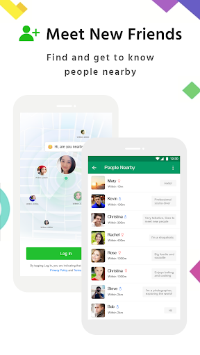 MiChat - Chat, Date and Meet New People Nearby 0.2.8 screenshots 7