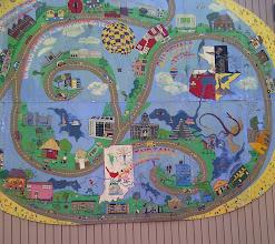 Photo: Bloomington YRE -mural on B-line Trail
