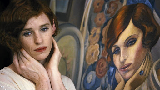 Actor Eddie Redmayne as Lili Elbe, one of the first-known recipients of gender re-assignment surgery, in the 2015 film 'The Danish Girl'.