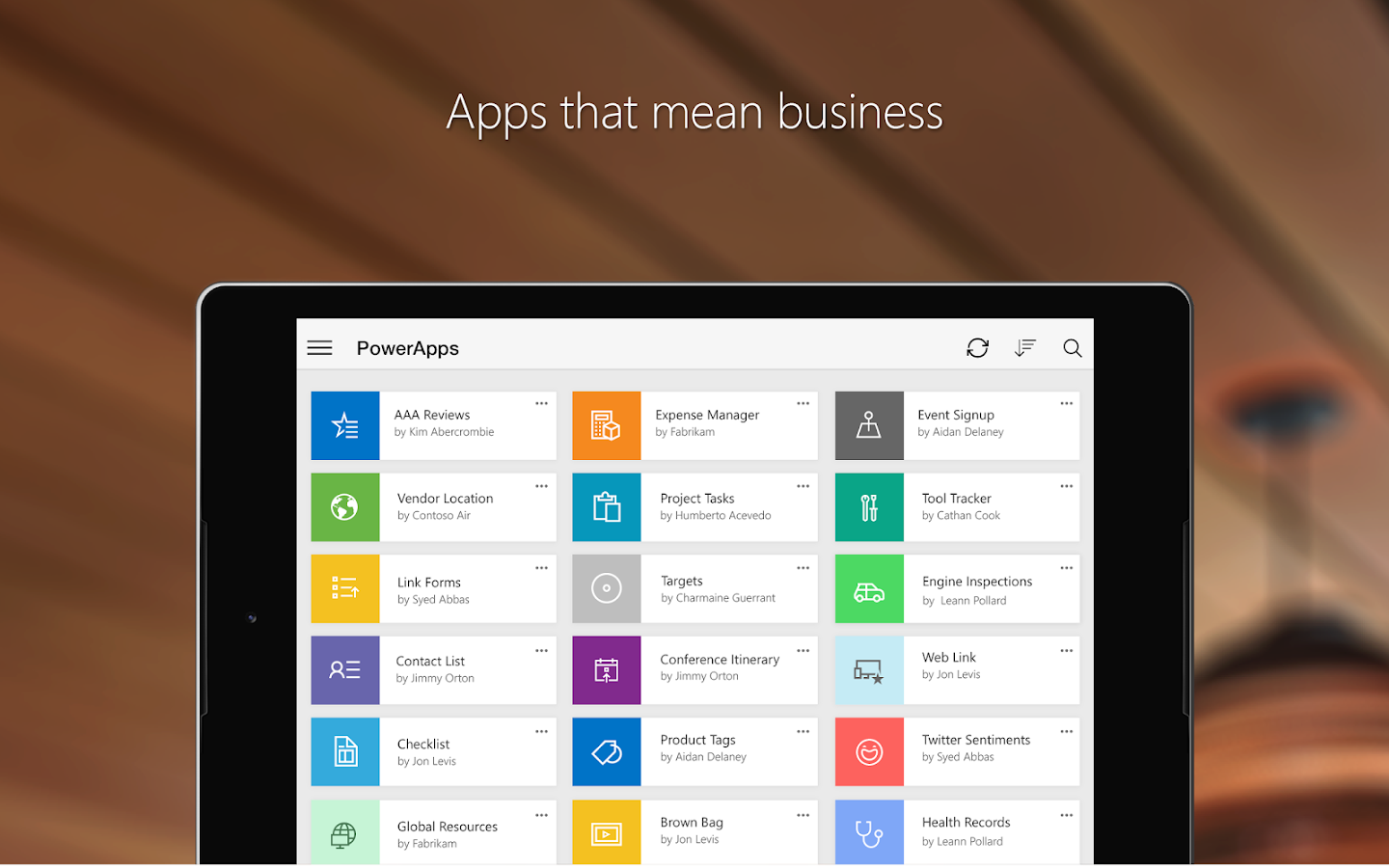 PowerApps- screenshot