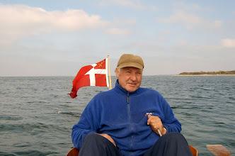 Photo: 2003  Arne Kaj Nielsen, Odense Roklub på tur i det sydfynske øhav.
