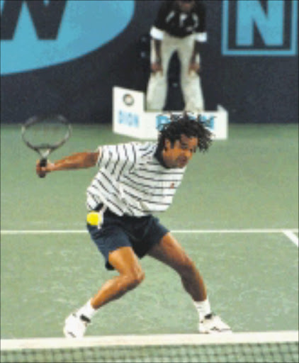 TALENT: Yannick Noah became the darling of the French Open a few decades ago. © Unknown.