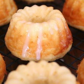Mini Lemon Ricotta Bundt Cakes.