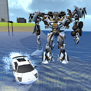 X Robot Car : Shark Water