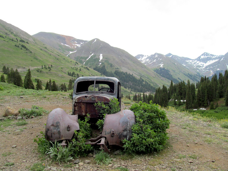 Photo: Old truck along the West Fork