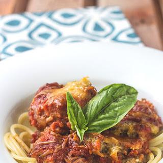 Slow Cooker Eggplant Parmesan