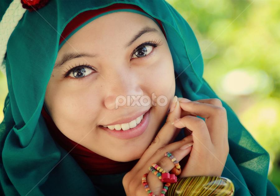 by 'Andi Iqbal - People Portraits of Women