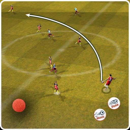 Football 11 players vs AI Game