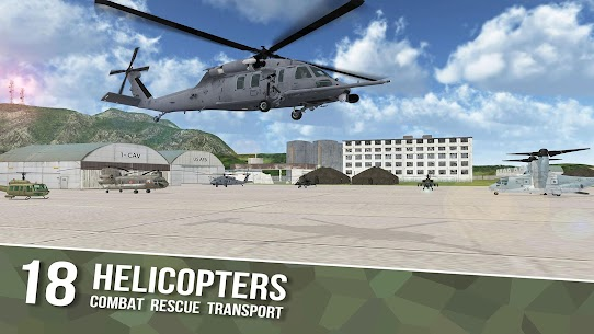 Helicopter Sim Flight Simulator Air Cavalry Pilot  Apk Download For Android and Iphone 1