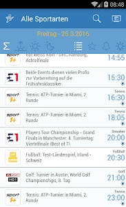 Live Sport im TV - Programm screenshot 0