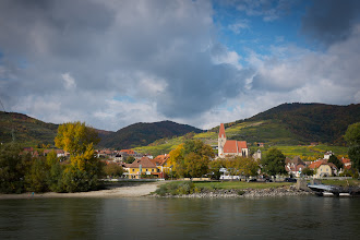 Photo: One of the manybeautiful villages along the river Danube.