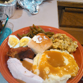 by Dawn Morri Loudermilk - Food & Drink Plated Food ( meal, thanksgiving, food, holiday meal )
