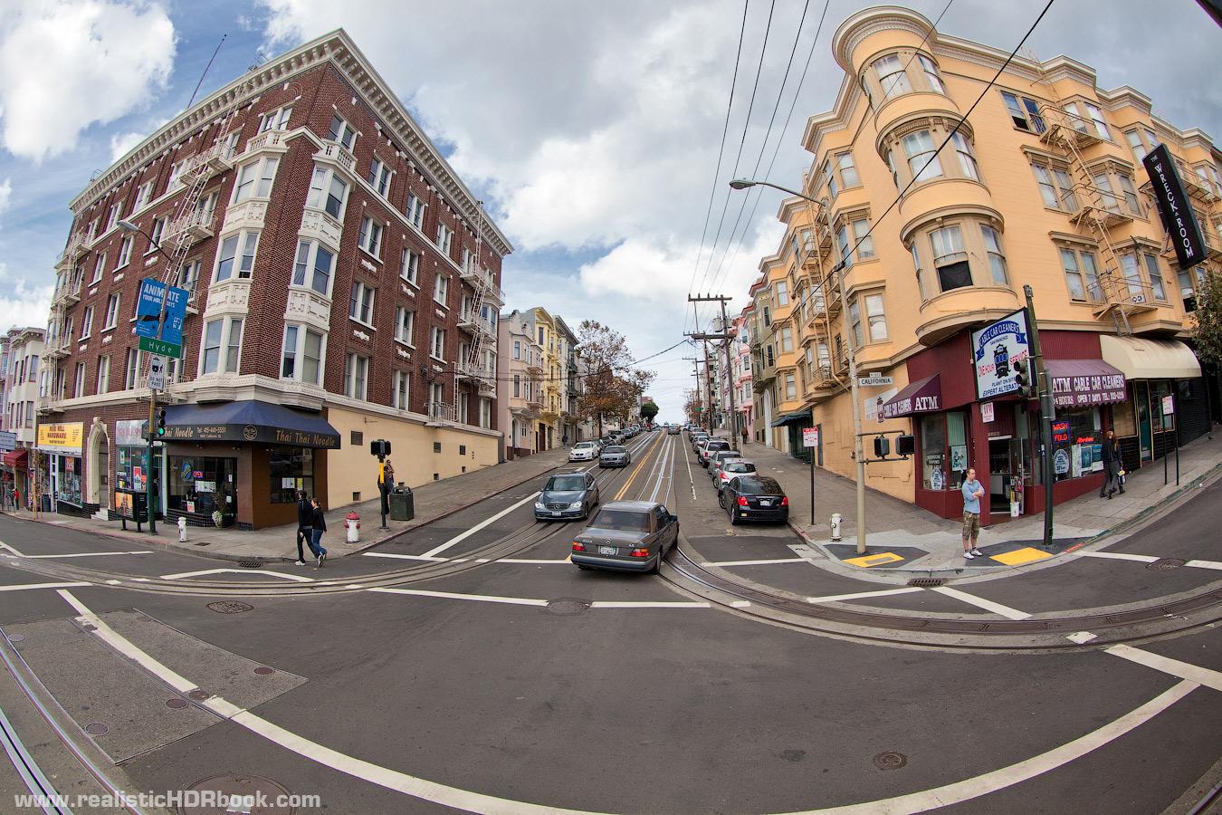 Photo: Streets of San Francisco by Alex Koloskov. www.realisticHDRbook.com