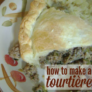 Tourtière (French Meat Pie).