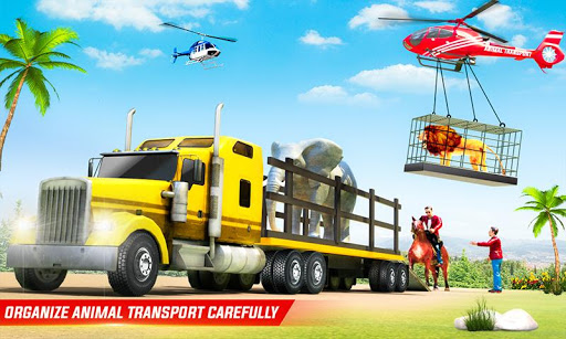 Farm Animal Transport Truck Driving Simulator  screenshots 1