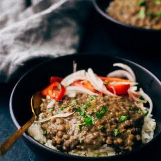 Brown Lentil Dahl Recipes.