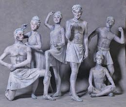 Photo: Park Statues