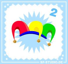 Photo: Today's www.sp-studio.de Christmas surprise: a colorful jester hat!