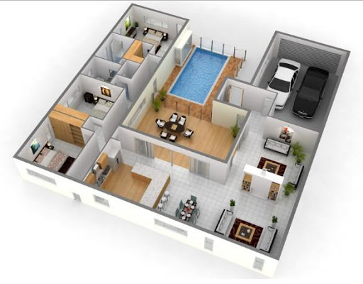 3d home architect 5.0 screenshots 1