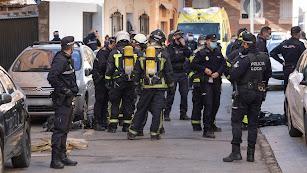 Los bomberos han podido sofocar las llamas. Jorge J. Rapallo