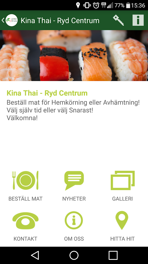 Kina Thai- screenshot