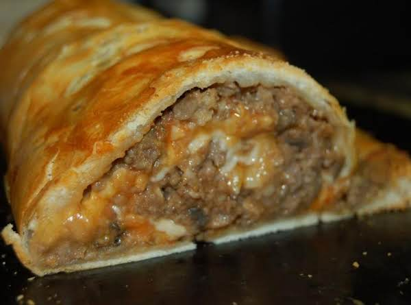 My Pastry Stuffed Meatloaf Roll Recipe