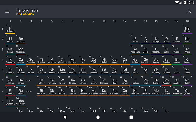 Periodic Table 2019 PRO - Chemistry Screenshot 8