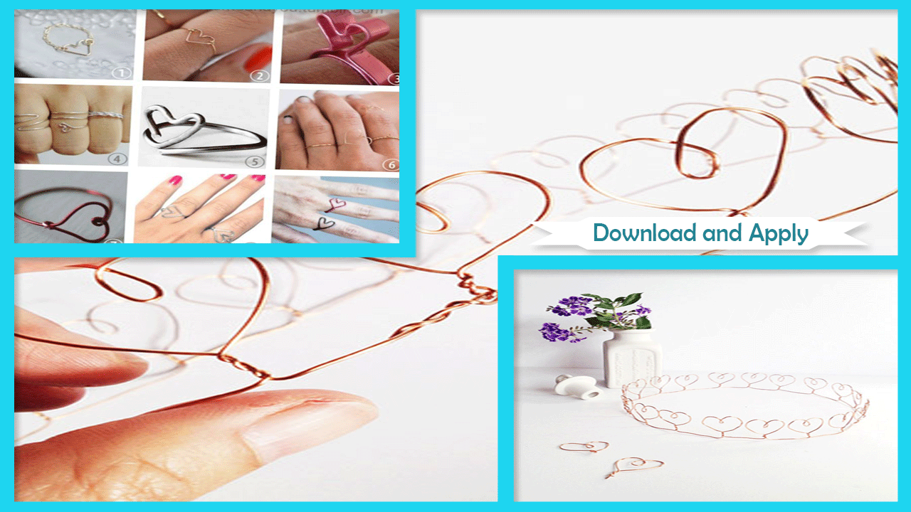 Easy DIY Wire Heart Crown - Android Apps on Google Play