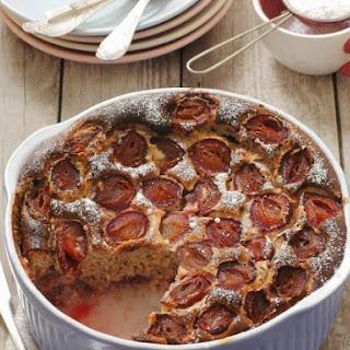 Stone Fruit Cake Pudding