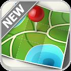 maps offline navigation 2018 icon