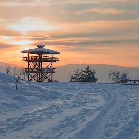 white cold by Yılmz Doğn - Landscapes Weather ( view, snow, winter, cold, landscape, architecture )