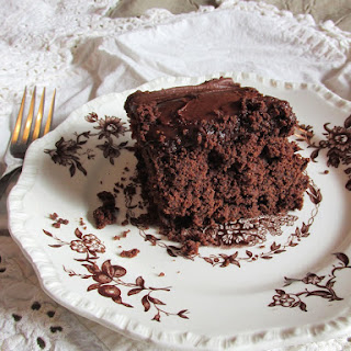 Chocolate Carrot Cake with Chocolate Frosting