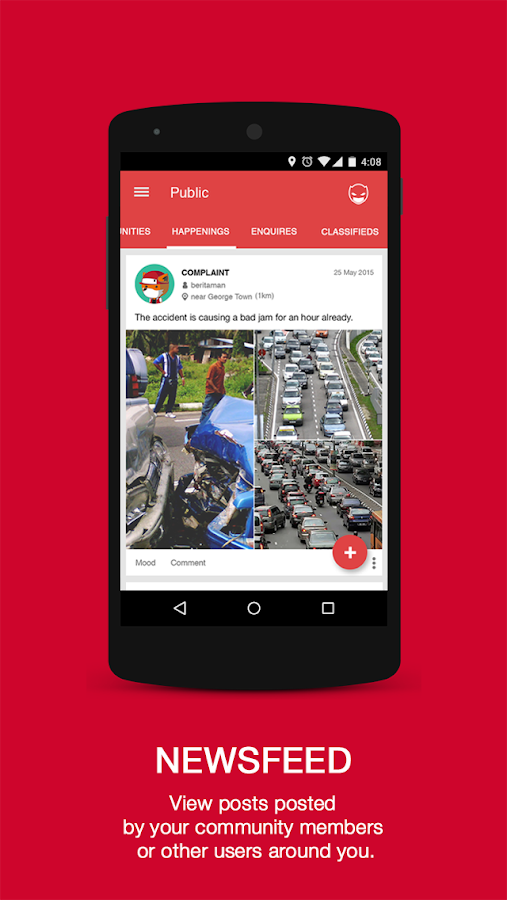 MYHERO - The Community App - screenshot