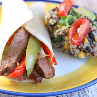 Instant Pot Southwestern Quinoa Black Bean Salad.