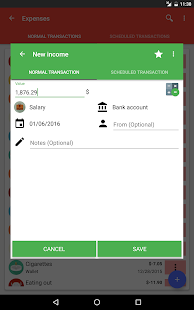Fast Budget - Expense Manager- screenshot thumbnail