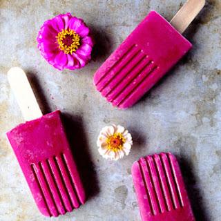 Strawberry Beet Smoothie Pops Recipe