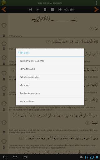 Al'Quran Bahasa Indonesia screenshot 9