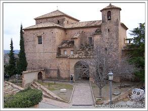 Photo: Iglesia de San Miguel, Alquézar (Huesca)-www.viajesenfamilia.it