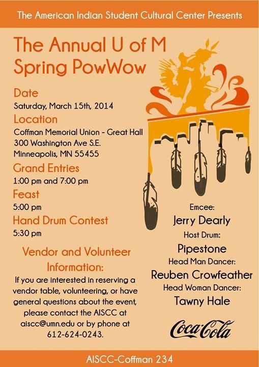 U of M Spring Powwow 2014