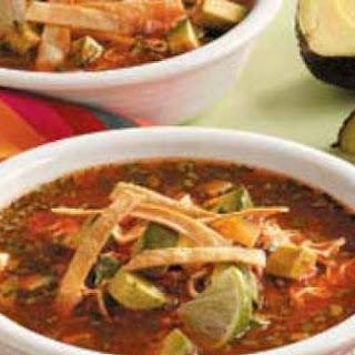 Southwestern Tortilla Soup