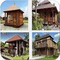 New Cool Wooden House Design icon