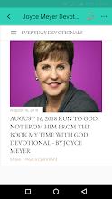2019 Joyce Meyer Daily Devotion screenshot thumbnail