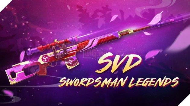 Free Fire: How to get exclusive SVD Swordsman Legends Skin? 1