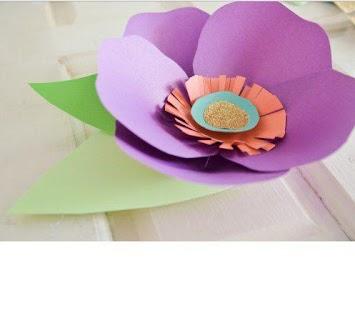 Snadná Paper Flower Návody - náhled