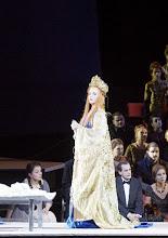 Photo: Wiener Staatsoper: TURANDOT. Inszenierung: Marco Arturo Marelli. Premiere 28.4.2016.  Lise Lindström. Copyright: Wiener Staatsoper/ Michael Pöhn