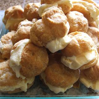 Ice-cream Puffs (profiteroles)