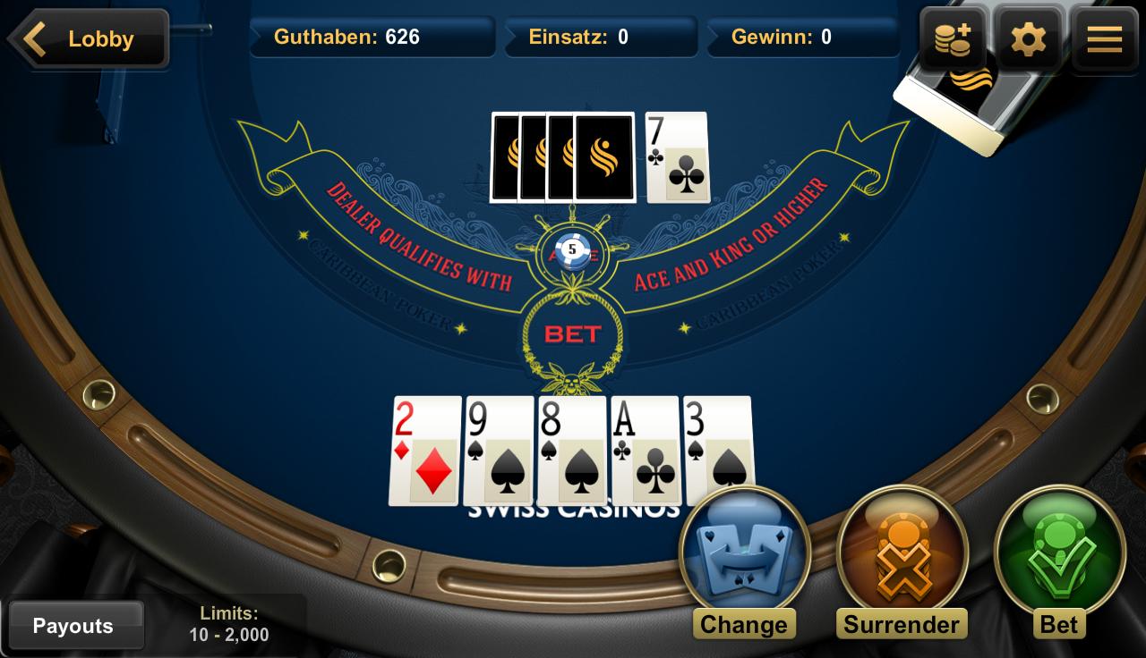 casino schweiz online  app