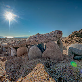 Built on Sand by Thomas ST0LL - Nature Up Close Rock & Stone ( stoellchen )