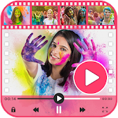 Holi Video Maker 2018
