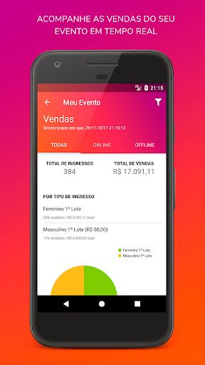 IngressoLive Organizador screenshot 1